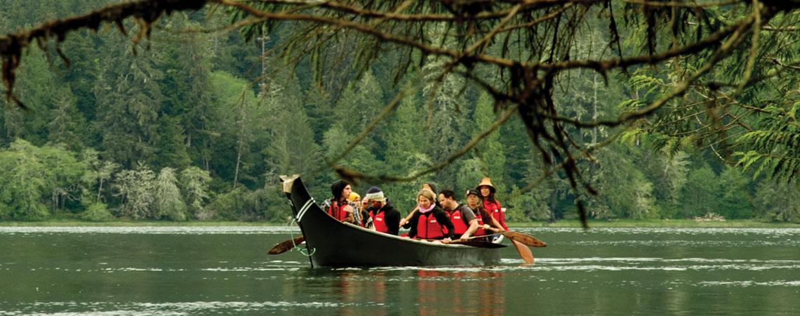 Meares Island Canoe Tour