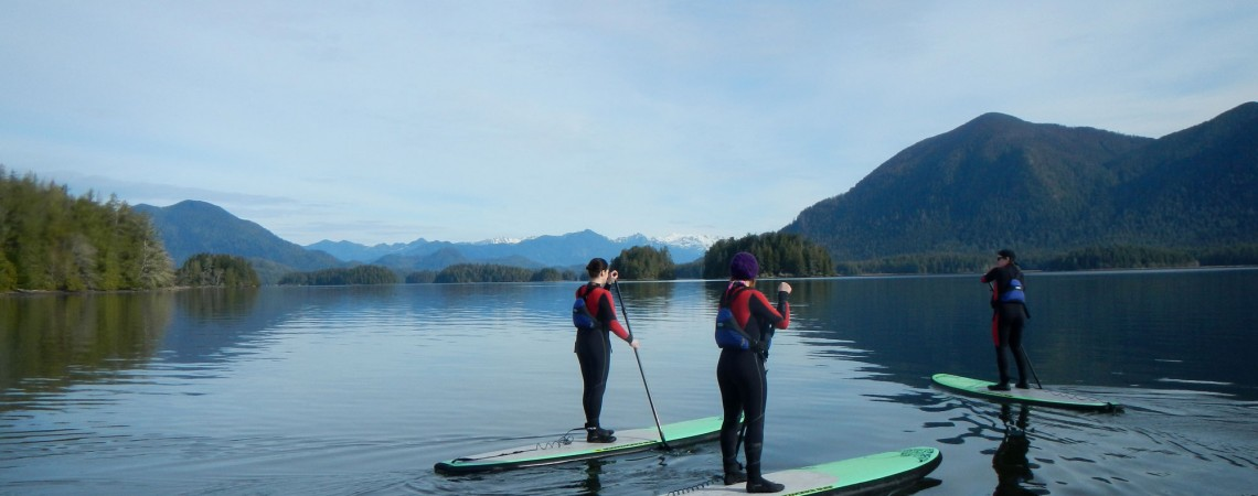 SUP the Inlet – tour with instruction