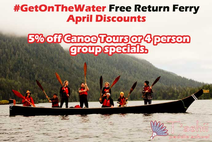 first nation canoe tour