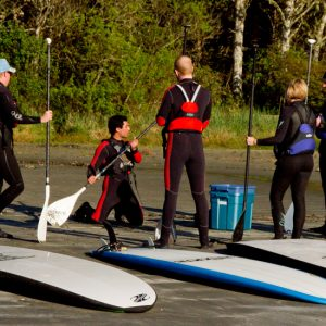 stand up paddleboard instructor
