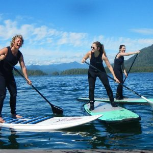 stand up paddleboard tofino