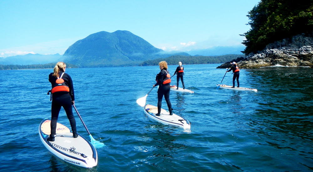 Tofino Paddle Boarding And Canoe T Ashii Paddle School